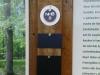 Die kleinen Schilder 10 x 6 cm kennzeichnen die Grabstellen. Auf die großen Schilder 10 x 20 cm wird nach der 6. Beisetzung gewechselt.