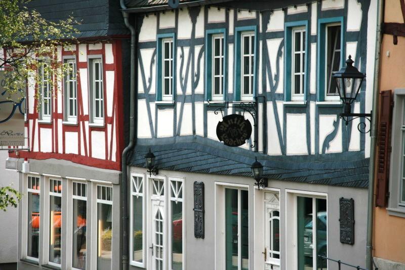 In der Altstadt von Kastellaun