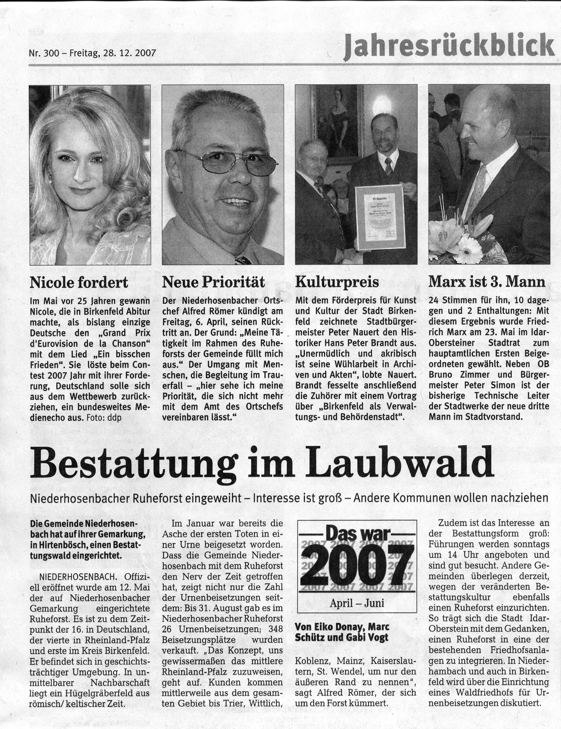 2007.12.28. Nahe-Zeitung